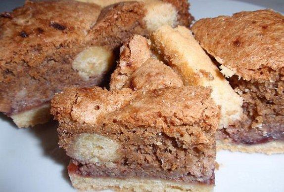 Křehký ořechový dort (řez) photo-0
