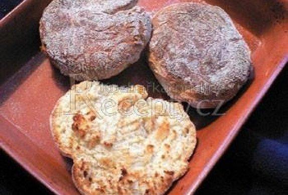 English muffins (Anglické žemle)