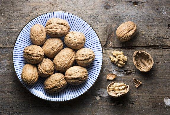 Linecká srdíčka s ořechy