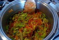 Zeleninová omáčka se smetanou