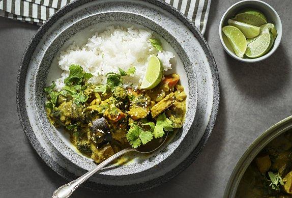 Zeleninové curry