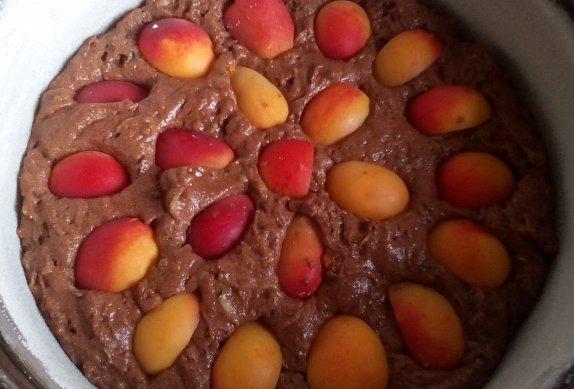 Cuketový perník s ovocem
