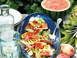 Grilované ovoce se sezamovým griliášem