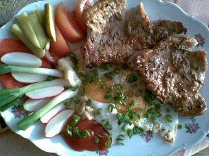 Kmínové přírodní maso - minutka