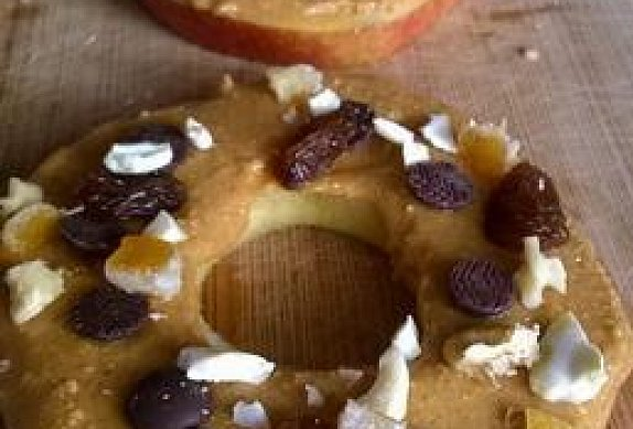 Arašídová jablíčka ke svačince