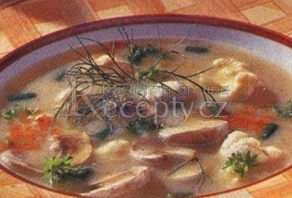 Krémová polévka se žampiony photo-0