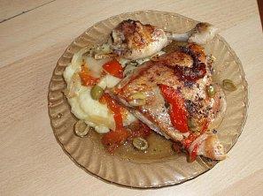 Kuře po středomořsku