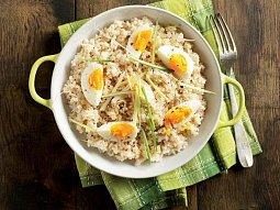 Vejce s rýží