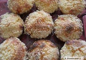 Drobenkové muffiny s tvarohem