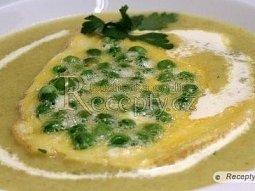 Vánoční polévka - Rybí krém s hráškem