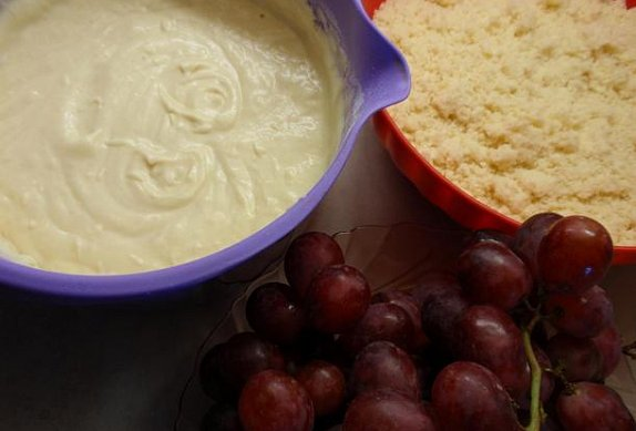Jogurtovo-vínový koláč