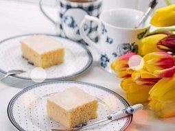 Citronovo-tvarohový koláč