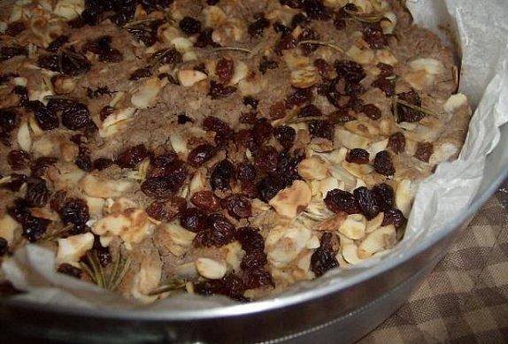 Castagnaccio - italský kaštanový koláč