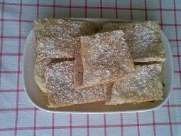 Listové řezy s vanilkovo-nugátovým krémem
