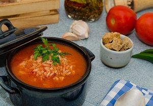 Moje rajčatová polévka se zelím a s rýži