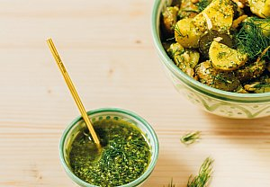 Koprové pesto