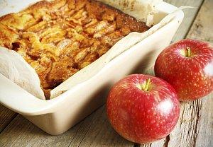 Jablečno-mandlový koláč