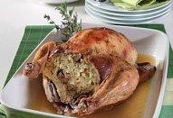 Babiččino pečené kuře s nádivkou
