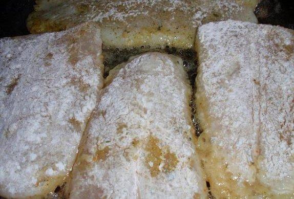 Filety s česnekovými výhonky