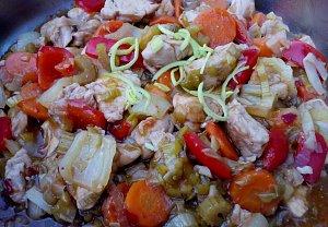 Kuřecí směs se zeleninou