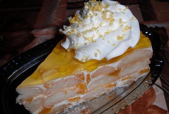 Jogurtový tropik dort - nepečený
