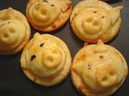 Sýrové prasečí čumáčky