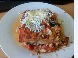 Šťavnaté Lasagne