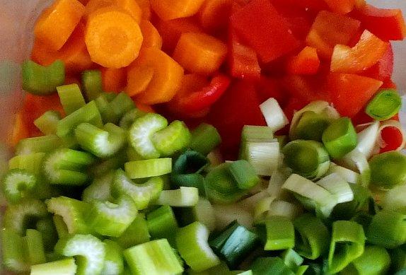 Vepřové dušené v zelenině