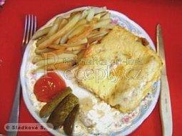 Zapečené rybí filety