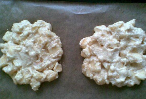 Jablečné koláčky - kdo nemůže smažené