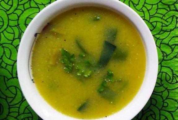 Pórková lehká polévka