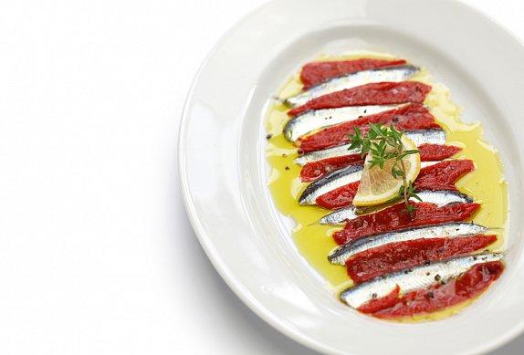 Terina ze sardinek a paprik