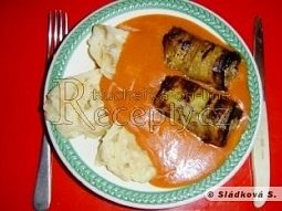 Kebab v baklažánech