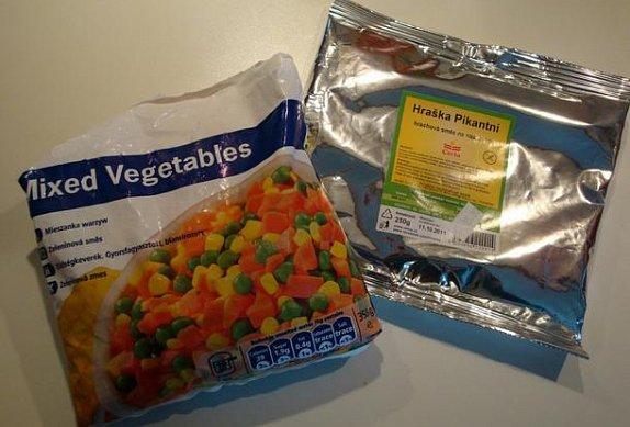 Pikantní zeleninové řízečky s Hraškou