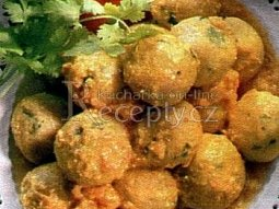 Smažené zeleninové kuličky