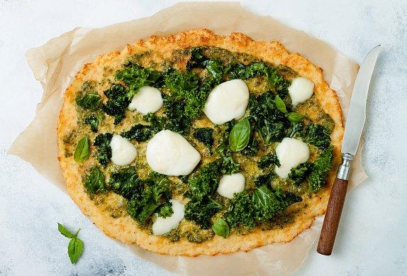 Květáková pizza