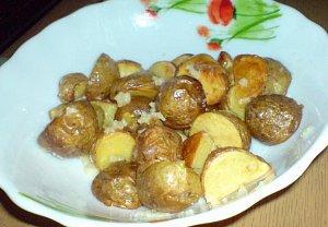 Dědovy pikantní brambůrky