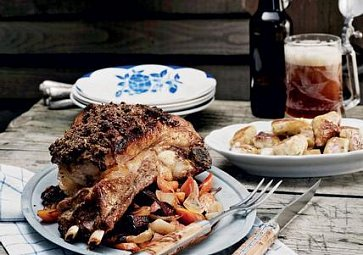 Recept na víkend: Pečená žebra s tymiánovou krustou