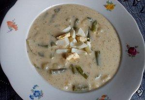 Jednoduchá fazolková polévka