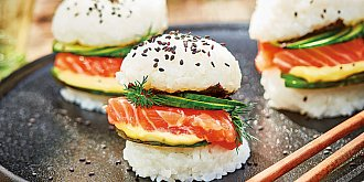 Sushi burger
