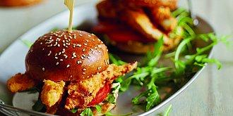 Burgery z podmáslového kuřete