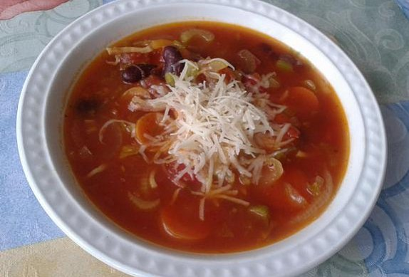 Minestrone polévka