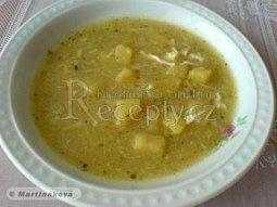 Kmínová polévka s bramborem