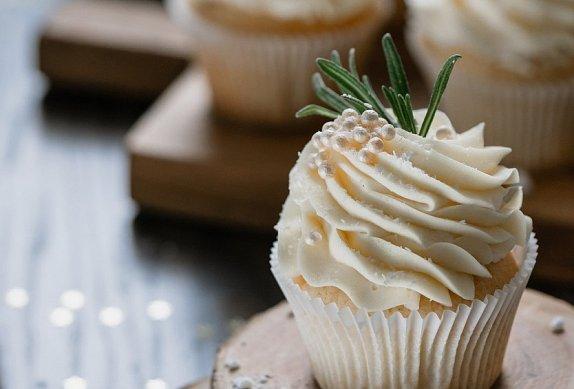 Vánoční vanilkové cupcakes photo-0