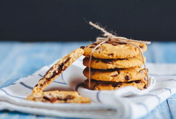 Špaldové cookies