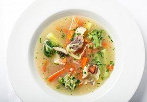 Jednoduchá rybí polévka
