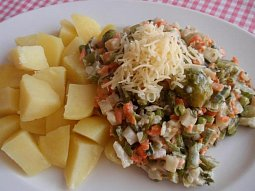 Sýrová zelenina: (nejen) příloha