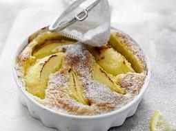 Jablečný clafoutis s citrony