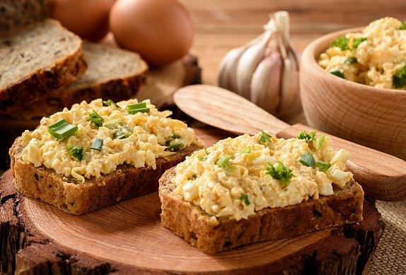 Rychlá vajíčková pomazánka