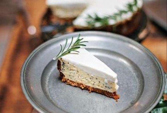 Rozmarýnový cheesecake
